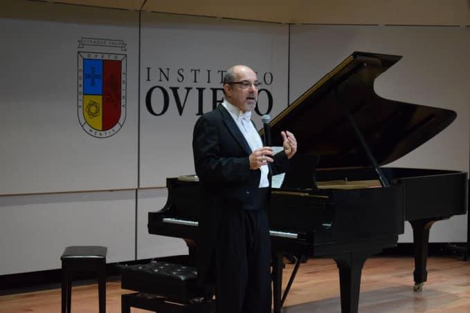 Concierto del pianista Norman Krieger